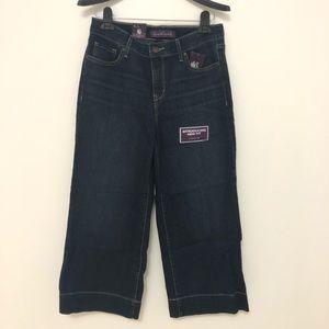 NWT Gloria Capri jeans size 6